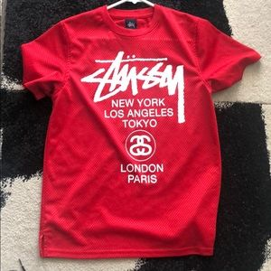 Stussy Jersey Men (Red) Size Small